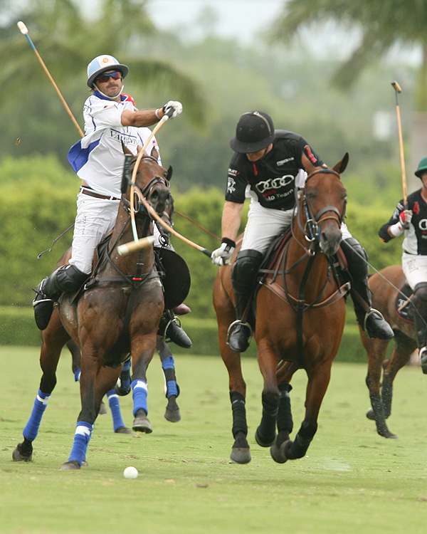 Audi Rally Falls Short, Loses To Valiente In 109th Maserati U.S. Open Polo