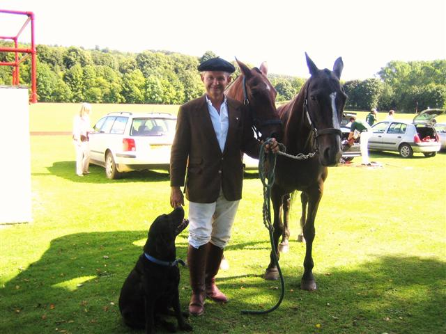 Gold Cup Opening Day at Cowdray park, Midhurst West Sussex